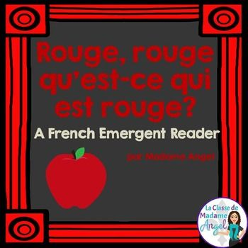 Save 30% when you purchase my complete bundle of Colour Emergent Readers in French!  Les Couleurs: Bundle of 11 Emergent ReadersThis emergent reader is part of series featuring the colors in French!  With a fun language structure pattern, beginning learners of French will enjoy the surprise ending.