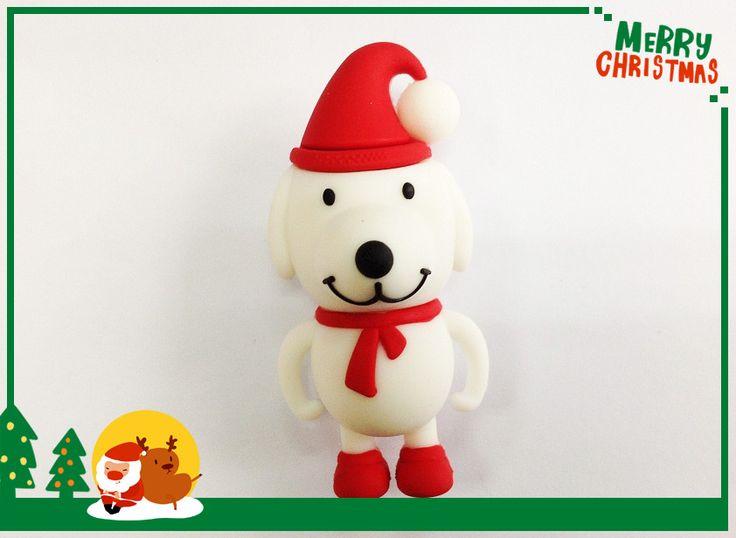 Горячие продажи полную мощность 2 ГБ 4 ГБ 8 ГБ 16 ГБ 32 ГБ 64 ГБ мультфильм рождественская собака usb flash drive menory u диск флэш-накопитель S568