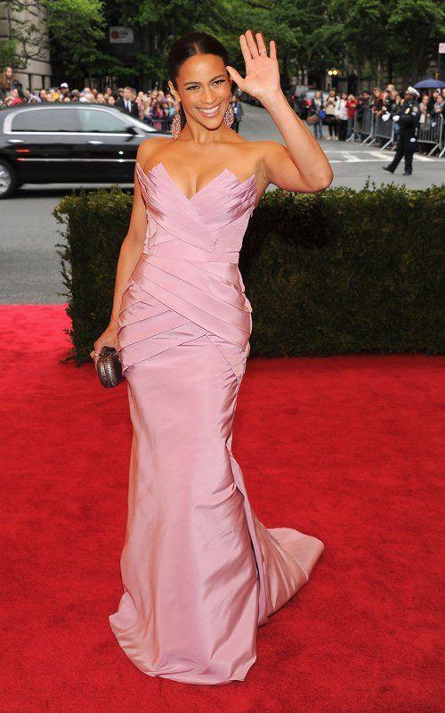 Paula Patton 2012 Met Gala Costume Institute