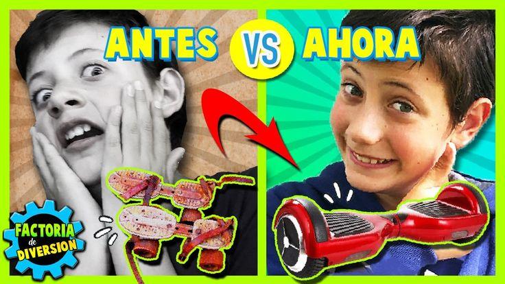 ¡¡JUGUETES ANTIGUOS vs JUGUETES MODERNOS!! 👴🏼 Comparamos los JUEGOS de A...