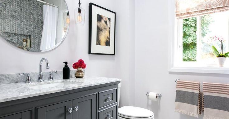 ¿Tiene un baño pequeño que simplemente no puede soportar? Conocemos el sentimiento … Chec … baños