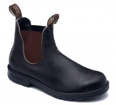 Blundstone 500 Premium Leather Classic Dealer Boot - Stout Brown