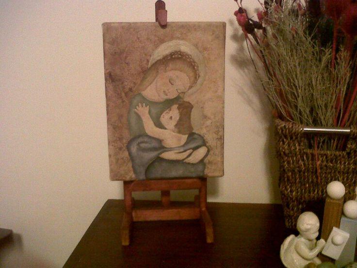 Lo primero que pinté.