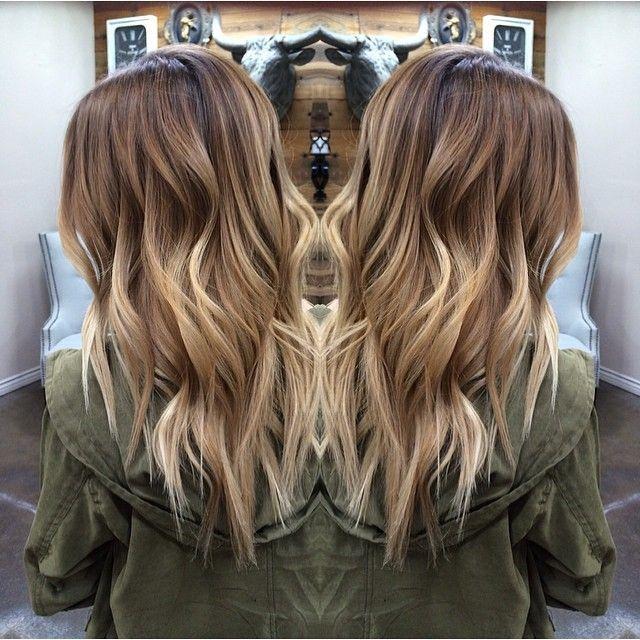 "nice ⠀⠀⠀⠀⠀⠀⠀⠀⠀⠀Sharon Scheible on Instagram: ""Babe babe babe // color melt + dimensional blonde balayage highlights ≫ loveeeee ❥❥ #hairbysharmichele #salonDLM #teamsalonDLM…"""