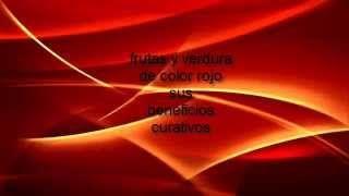 Frutas de color rojo beneficios curativos