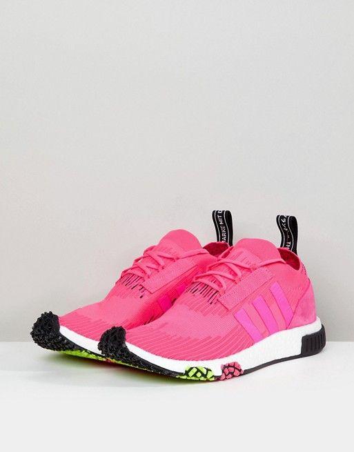 pretty nice 746a5 8a80f adidas Originals  adidas Originals NMD Racer PK Boost Sneakers In Pink  CQ2442