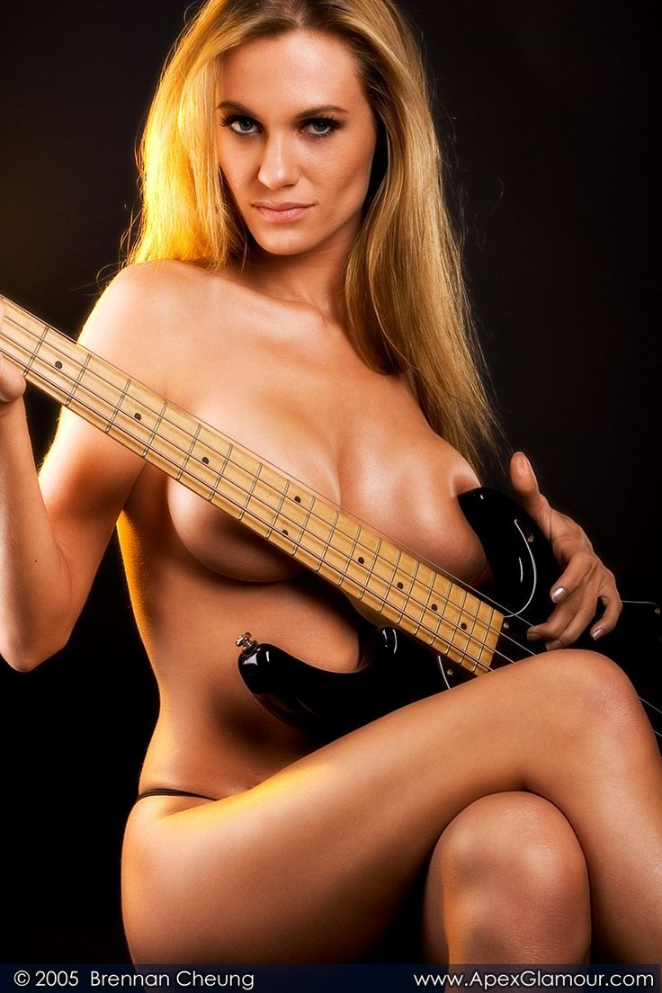 naked chicks and guitars