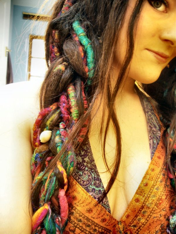 eat.live.wear. dreads dreadlocks. boho bohemian gypsy hippie fashions style hair :: #dreadstop
