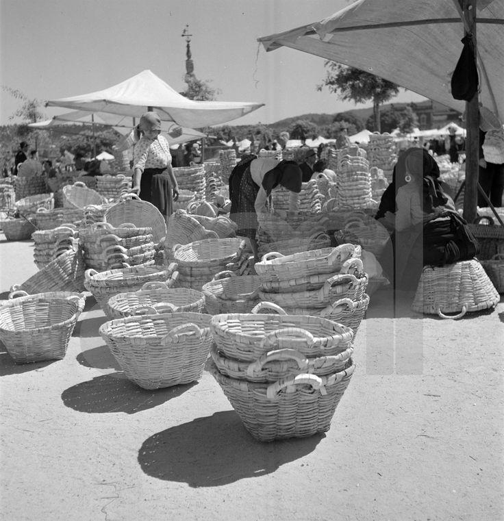 Feira de Barcelos. Fotografia de Artur Pastor