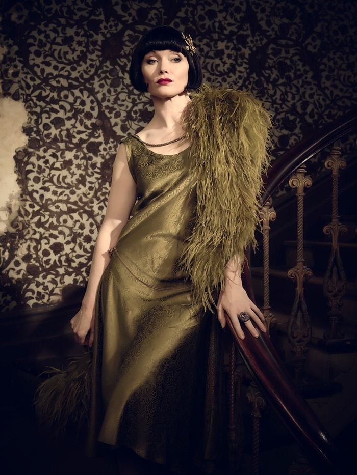 Game, set and murder: Miss Fisher's finest 1920s fashion – in pictures                                                                                                                                                                                 More