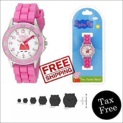 Peppa Pig Kids PPG9000 Analog Display Quartz Pink Japanese Watch Diameter: 32mm #PeppaPig #Peppapigwatch #girlswatch #toys #kidswatches #ebay #shopping #amazon #freeshipping #walmart #buynow #homedepot #bestbuy #staples #officedepot #onlineshopping #toysrus
