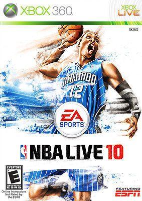 NBA Live 10 - Xbox 360 Game