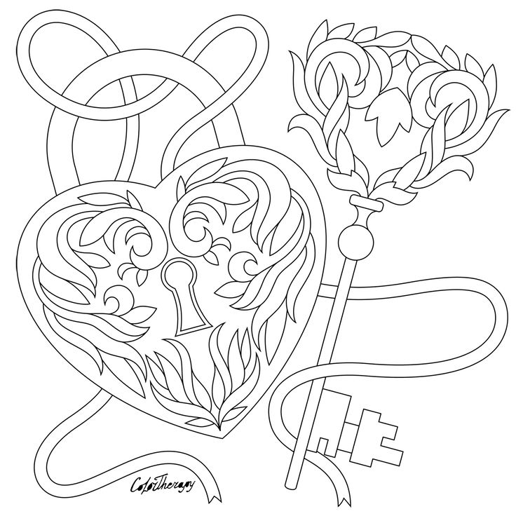 color app coloring pages | Pin by Color Therapy App on Gift Of The Day #GOTD | Free ...