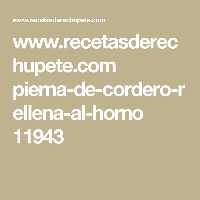 www.recetasderechupete.com pierna-de-cordero-rellena-al-horno 11943