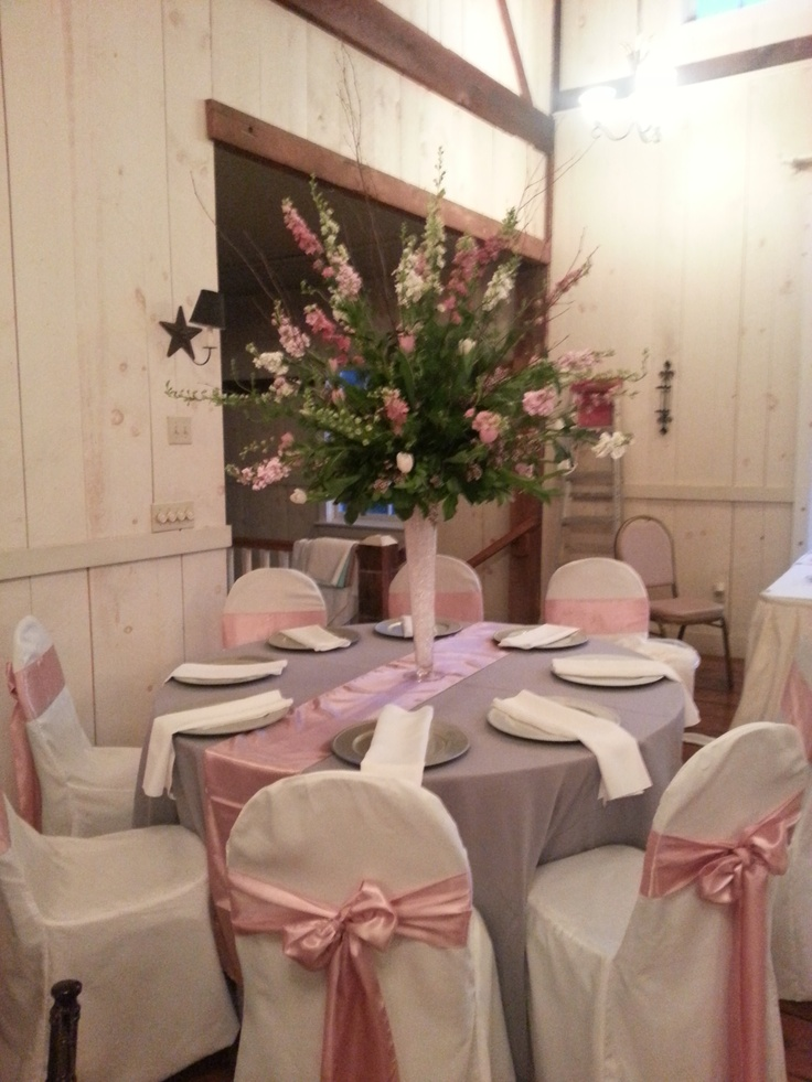 Light Pink And Grey Wedding At The Barn Boones Dam
