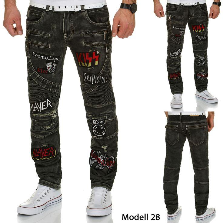 Kosmo Lupo Herren Jeans. Marke: Kosmo Lupo - alle Modelle. HINWEIS: Die Jeans fällt ca. 1 Nummer kleiner aus. Material: 69,9% Baumwolle, 30,1% Polyester. Farbe: Blau. Zustand: Neu, mit Etikett. Farbe: Dunkelblau. | eBay!