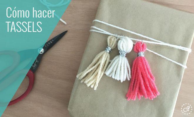 Aprende cómo hacer tassels para decorar lo que quieras. Encuentra más ideas y tutoriales en Castillo de Princesas.