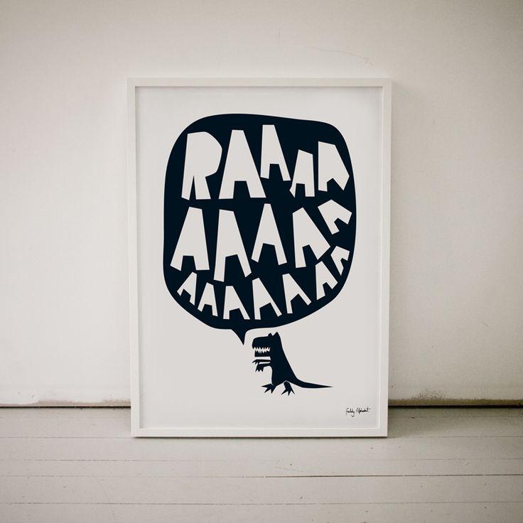 RAAAAA Poster - We're invading your walls!
