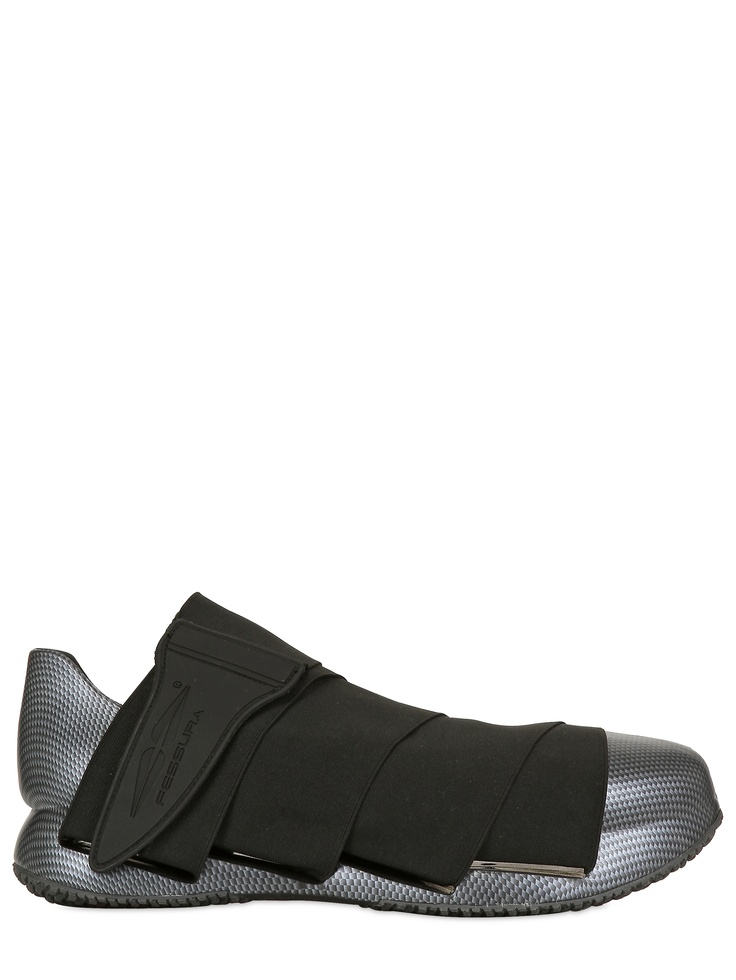 FESSURA  LIMITED EDITION CARBON LOOK SNEAKERS