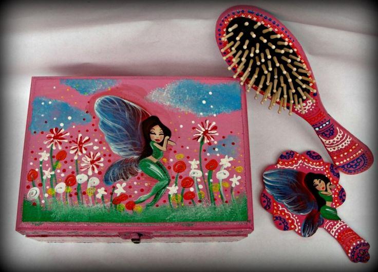 "Set+cadou+botez+""Sleepy+Fairy"""