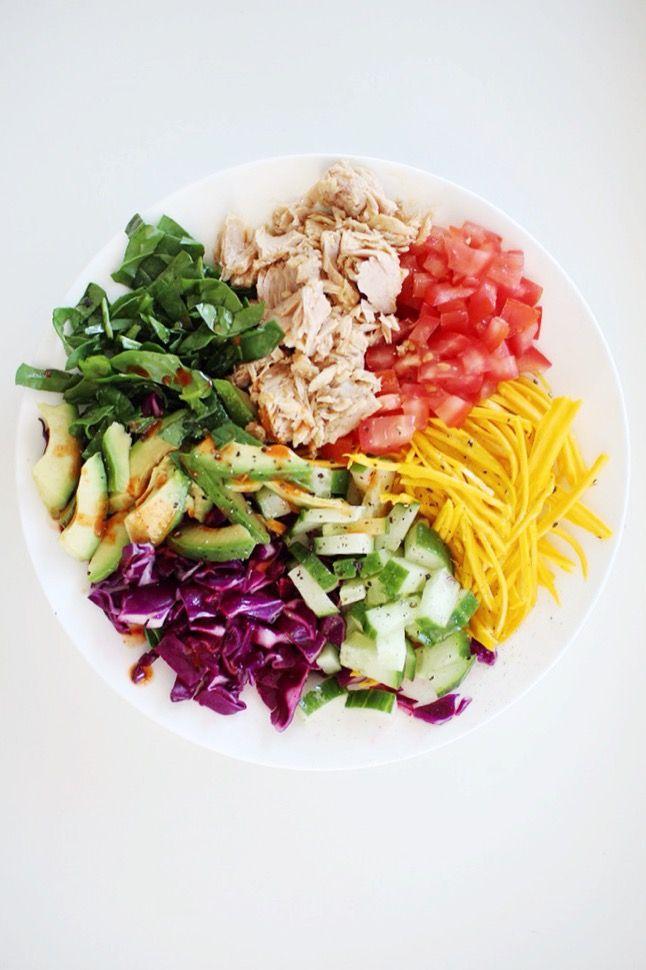 Tuna Rainbow Bowl on LIZANNE MARR BLOG