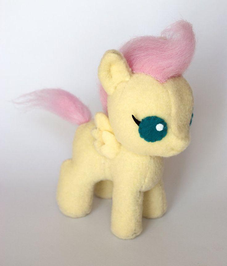 Baby Fluttershy Plushie Soft Plush Toys Pinterest