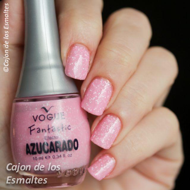 Esmaltes de uñas Vogue Esmaltes Vogue Algodón Dulce 153 #voguefantastic
