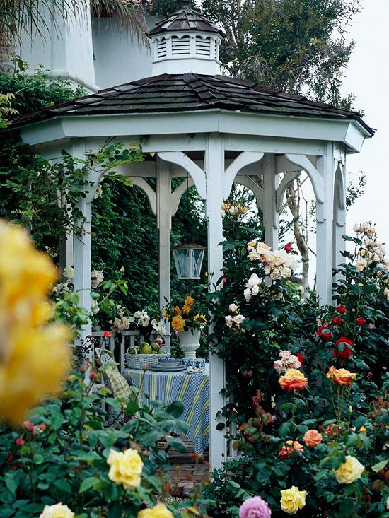 17 Best ideas about Garden Gazebo on Pinterest Gazebo Garden