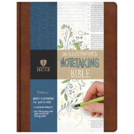 The Illustrator's Note-Taking Bible: Holman Christian Standard Bible, British Tan Leathertouch, The Illustrator's Notetaking Bible