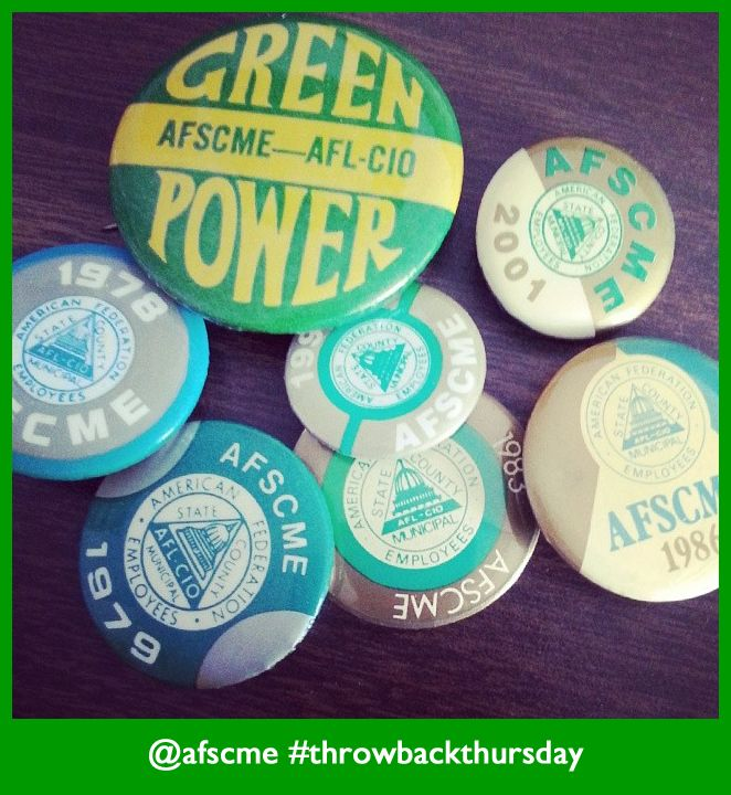 afscme buttons