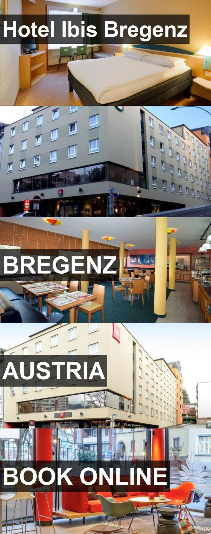 Hotel Ibis Bregenz in Bregenz, Austria. For more information, photos, reviews and best prices please follow the link. #Austria #Bregenz #travel #vacation #hotel