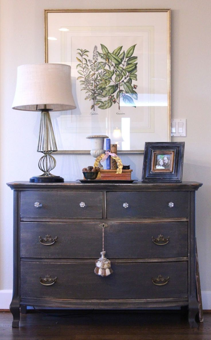 Chest of drawers paint color: urbane bronze
