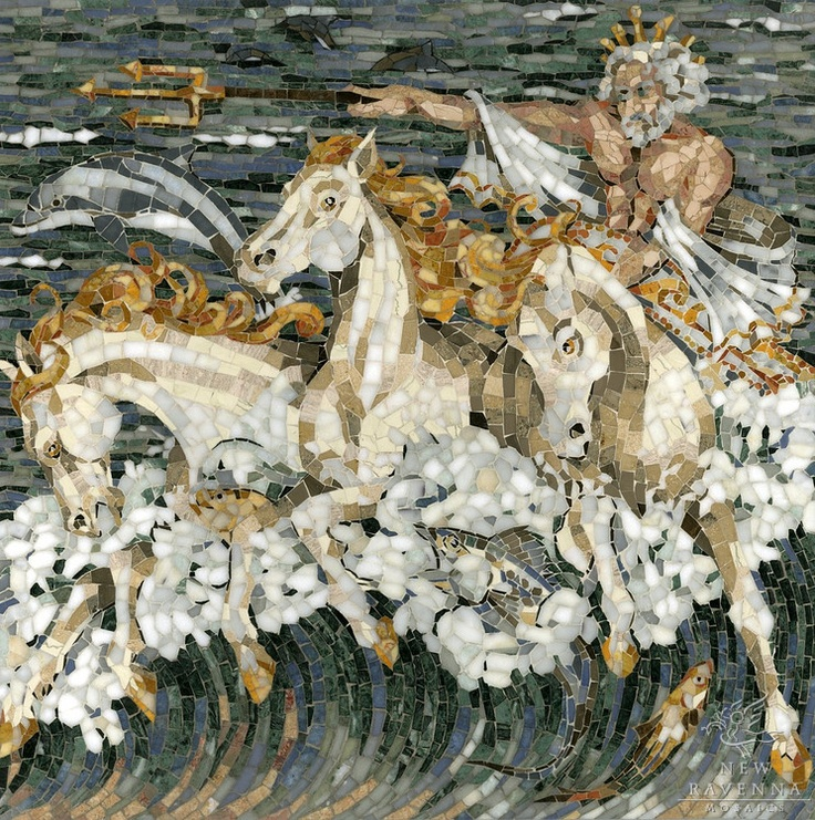 Image result for Paintings and artwork of Poseidon with guano covered rocks