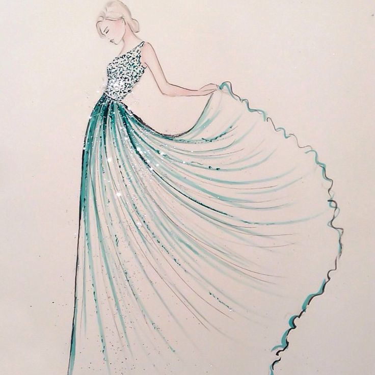 25+ best ideas about Fashion illustration dresses on ...