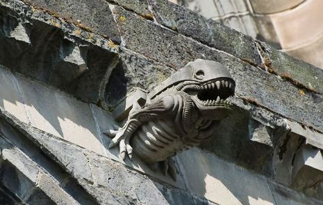 Xenomorph Discovered Guarding 13th Century Abbey