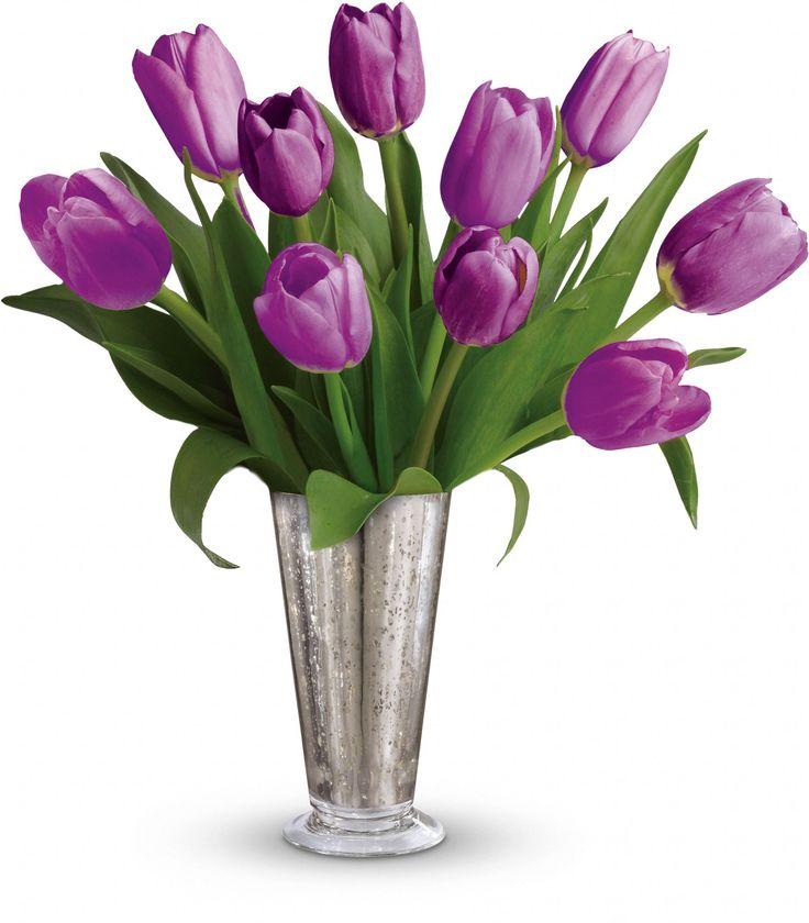 valentine tulip bouquet