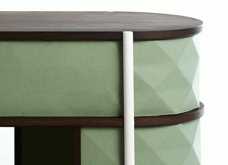 Details from Waffle sideboard, designed by FEM #wafflesideboard #studiofem