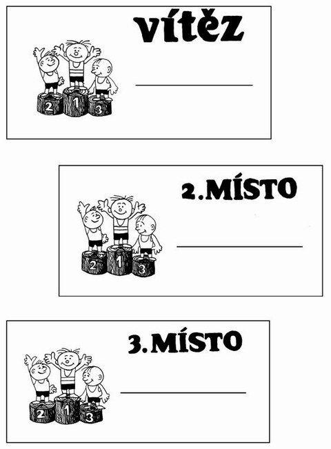 Diplom - bodování stupínek 2