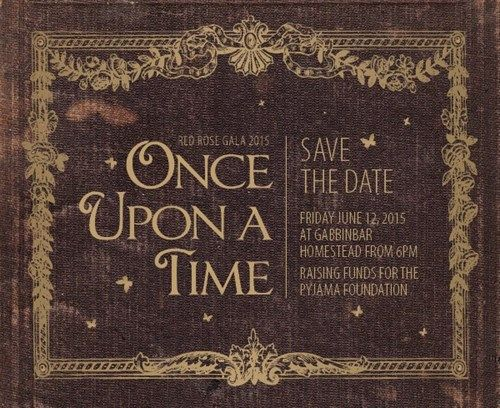 Once Upon a Time Gala Save the Date – shared by REDROSE Fund