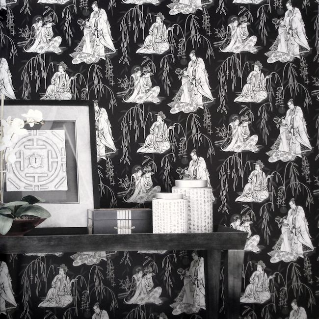 Black & White Collection BW28727.  Wallpapershop / Murrays Interiors