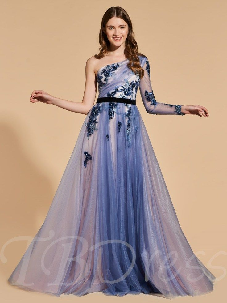 76bef25fdc Cheap Prom Dresses under Plus Size Prom Dresses Sales. A-Line One-Shoulder  Beading Lace Prom Dress