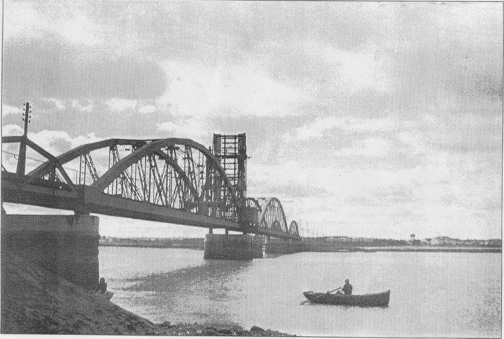 Barreiro Antigo - Ponte Barreiro Seixal, entretanto destruida.