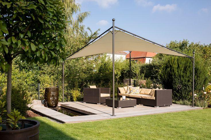 Fertighaus Gartenideen Terrasse Sitzecke Loungemöbel