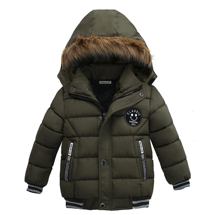 New Hooded Jacket for Boys, 2-5 Years