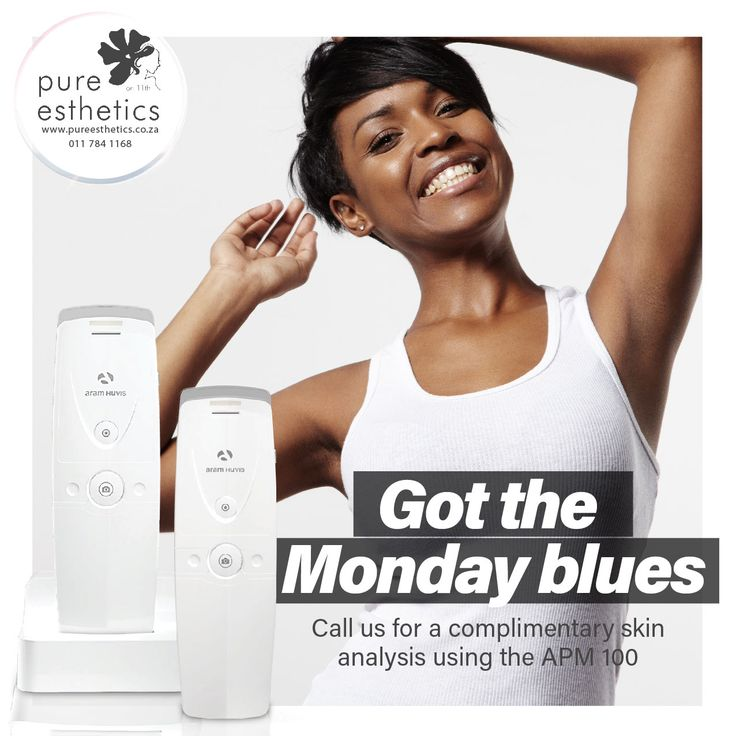 Let us help you feel happy again. Call us for a COMPLIMENTARY Skin Analysis using the APM 100 T: 011 784 1168 E: info@pureesthetics.co.za 117 Virginia Avenue, Parkmore, Sandton #PureEsthetics
