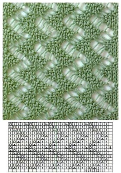 Схемы узоров спицами | Nikola Sen | Простые схемы. Экономим время на Постиле
