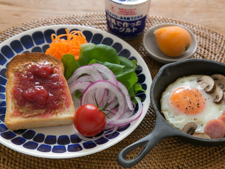 Breakfast, 朝ごはん