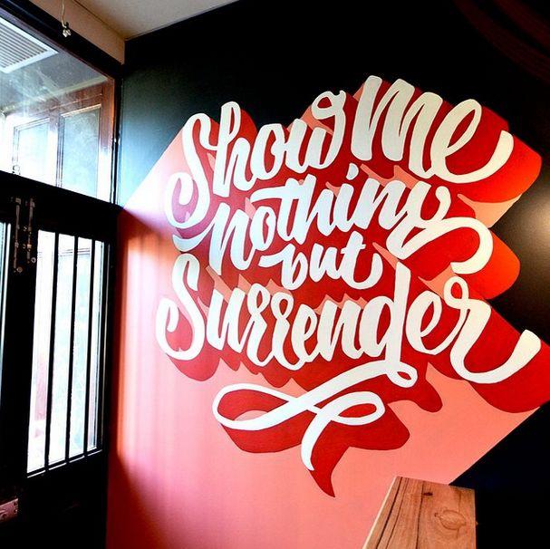 Typography Mania #287   Abduzeedo Design Inspiration