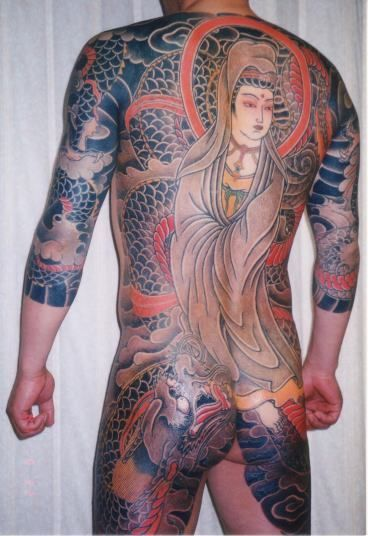 Cannon Tattoo Meaning Shisei traditional japanese tattoo artist ...