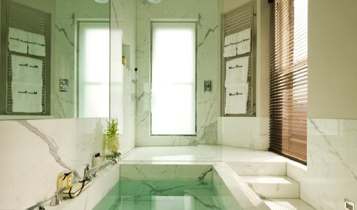 Glamorous bathroom by Finchatton